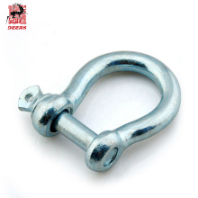 High strength g2130 stainless steel bow shackle