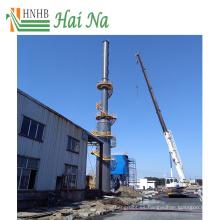 Torre de depuración de gas húmedo para procesamiento de desulfuración técnica