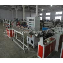 Chaîne de production renforcée de tuyau de fibre de PVC