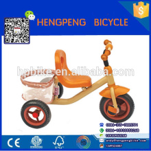 Wholesale child tricycle with double seat