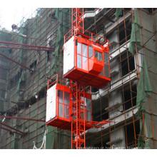 Grua dobro do edifício da construção das gaiolas da fabricação de China