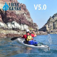 Kayak de mar único hecho en China