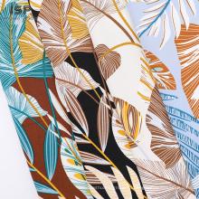 Мягкие саржевые текстильные ткани для печати Район
