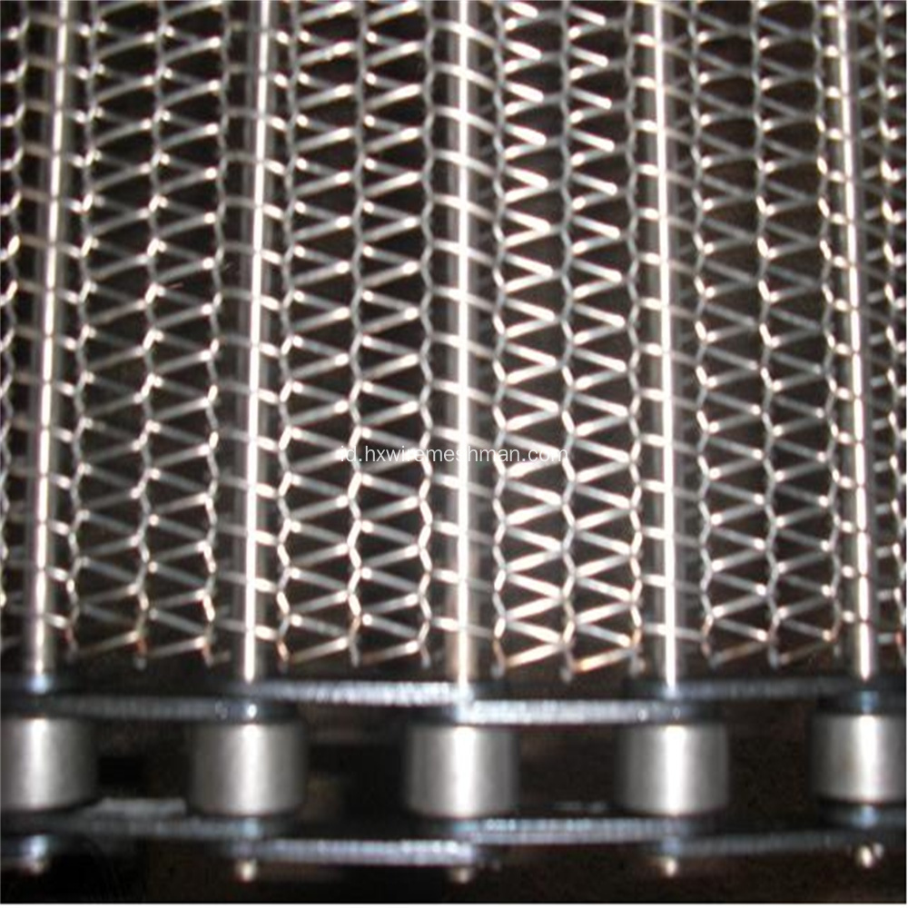 Stainless steel wire mesh belt