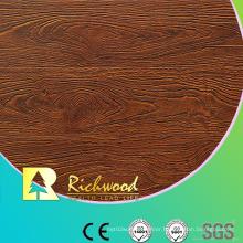 Commercial 12.3mm Embossed Hickory U-Grooved Waterproof Laminate Flooring