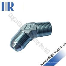 45 Adaptador de tubo adaptable hidráulico macho Elbow JIS / BSPT (1ST4-SP)