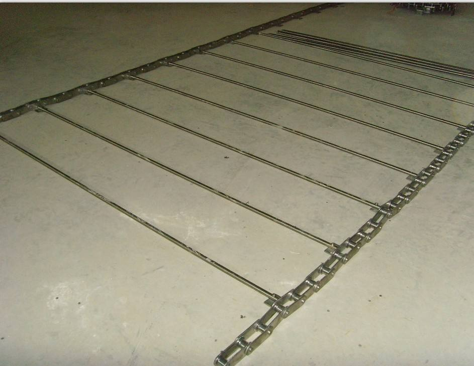 Chain Bar Type Mesh Belt