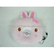 Hottest lovely and practical rabbit plush animal speaker