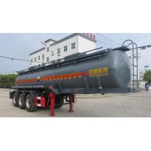 3 Axles Chemical Sulfuric Acid Tanker Trailer