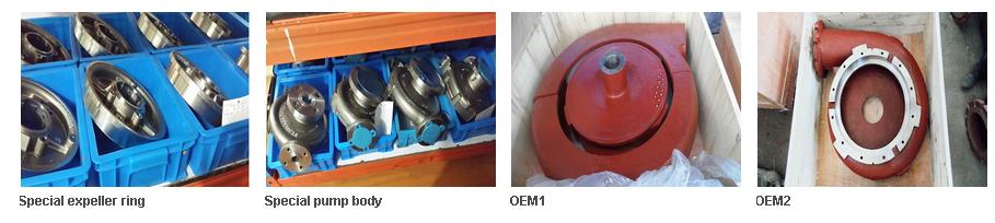 OEM slurry pump spare parts