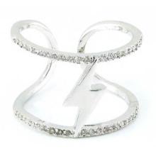Venta caliente 2015 más nuevo anillo de la joyería de la plata esterlina de la manera 925 (R10409)