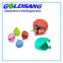 Colourful Candy Color Portable Silicone Coin Purse