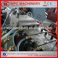 Wood Plastic Composition wpc profile/board/door machine wpc rice husk plastic machine