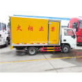 Single bridge van box truck for dangerous goods