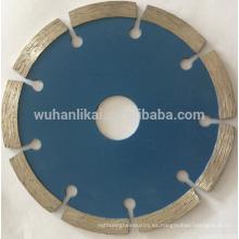 disco de corte de azulejo de granito sinterizado cuchillas con punta de diamante