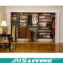 Caminhada da madeira maciça de India Styly no armário do Wardrobe (AIS-W361)