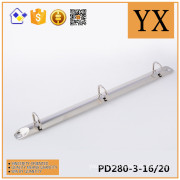 Hot sale 3 ring file stationery / O- ring mechanism / hardware accessory