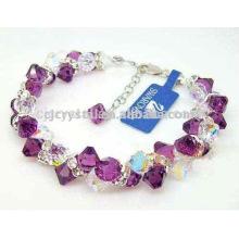 Bracelet en cristal shambala, gros bracelet en perles en gros