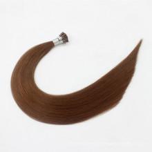 Prebonded fusion kératine italienne Cheveux Double Drawn Human Hair Je pointe les extensions de cheveux