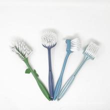 DCFDB-1018 Long Handle Degradable Corn Flour Household Kitchen Cleaning Wash Dish Vegetable Brush