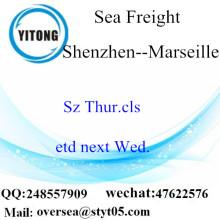 ميناء شنتشن توحيد LCL إلى مرسيليا
