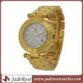 Relógio de aço inoxidável de quartzo de boa qualidade