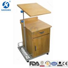 Cabinets de chevet en bois de salle de séjour de haute qualité de l'hôpital SKS103 avec la table dinning