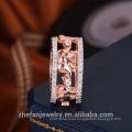 mejor precio alta calidad al por mayor fabricante de la joyería precio barato al por mayor cz anillo de oro anillo de bodas