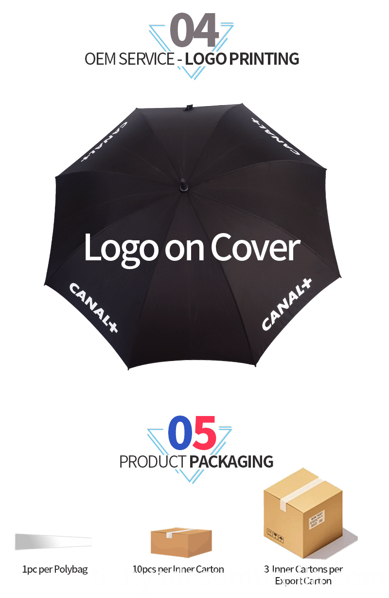 Dual Layer Straight Umbrella Big Size
