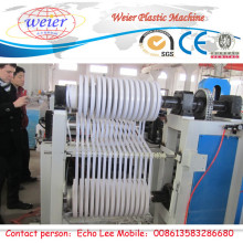 PVC Edge Banding Extrusion Line with Slitting Machine 600mm