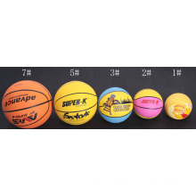 Different Size Rubber Basketball, Be Made From Natural Latex, Special Macromolecule Material, Different Printing and Colors Are Available
