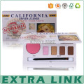 art paper cardboard boxes cosmetic storage box paper eyeshadow palette box