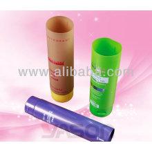 Yason tubo de plástico para el recipiente de tubo cosmético