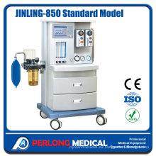 Máquina de anestesia Jinling-850 modelo estándar con certificado Ce