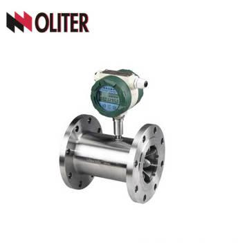 Débitmètre de sortie d'impulsion de compteur de débit de turbine de mazout avec affichage