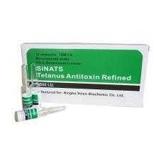 GMP Inyección de antitoxina tetánica 1500IU