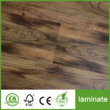 Suelo laminado de tablero largo de 12 mm Crystal Surfaced
