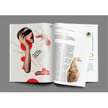 Fashion Magazine Custom Magazine Druck für den Verlag