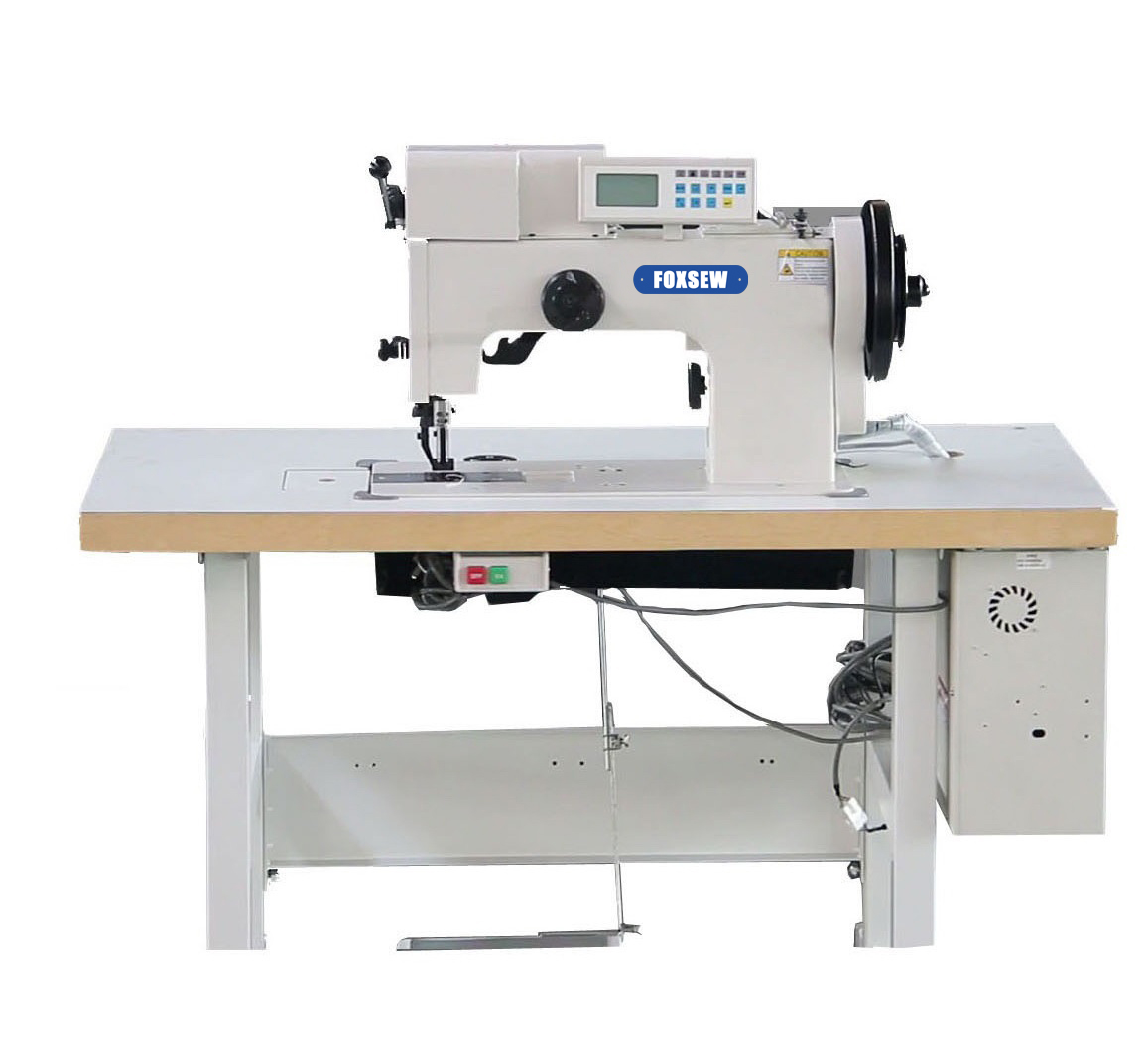 KD-204-106D Double Needle Heavy Duty Thick Thread Ornamental Decorative Stitch Sewing Machine