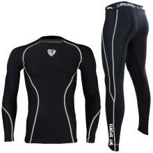 Stock Men Grey Rash Guard Nylon Spandex SRC-104