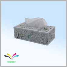 Stationery set school metal mesh custom printed tissue paper box