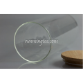 Glass Jar Canister with Wood Lid