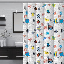 Baño impermeable baño ducha cortina de ducha bañera con patas