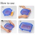 Couvercles d'étanchéité en plastique en silicone sans BPA