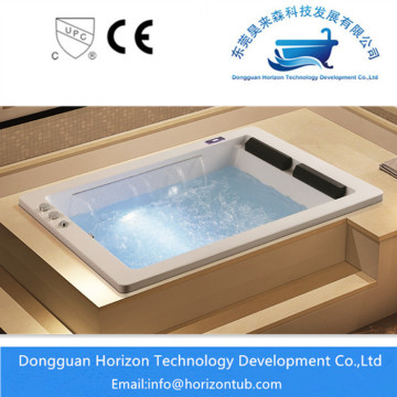 Whirlpool jacuzzi drop-in bathtub