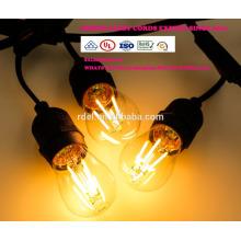 Сл-58 Открытый лампы IP65 Сид G45 E27 светодиодные ленты света для Рождественские украшения всепогодный