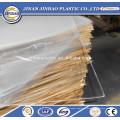 panel de pared de acrílico transparente / color resistente a las grietas