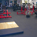 Indoor Rubber Roll Flooring mat For Gym