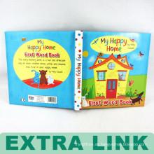 Drucken Kind hart zurück Brett Englisch Geschichte Vorschule Puzzle Buch