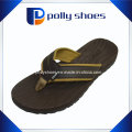 Men′s Bonzer Leather Flip Flop Sandals Size 10